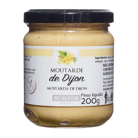 Mostarda Francesa de Dijon Beaufor 200g
