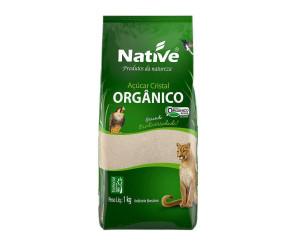 Açúcar Cristal Claro Native Orgânico 1kg