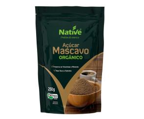 Açúcar Mascavo Organico Native 250g