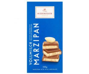 Barra De Chocolate Ao Leite Com Marzipan 110g