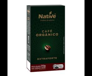 Café Orgânico Moído Extra Forte Native 250g