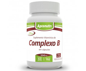 Cápsula de Complexo B Apisnutri 60cp