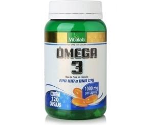 Cápsula de Ômega 3 EPA e DHA Vitalab 120cp