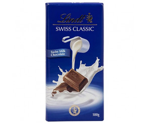 Chocolate ao Leite Lindt Swiss Classic (100g)