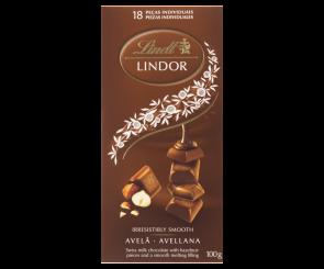 Chocolate Lindt Lindor Avelã Recheio Cremoso (100g)
