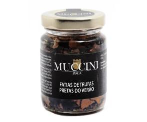 Fatias de Trufas Pretas Muccini 90gr