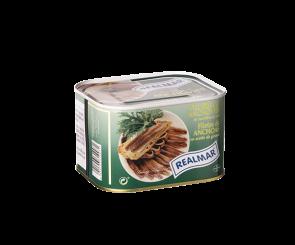 Filé de Anchova Realmar em óleo vegetal lata 252g