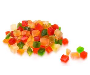 Frutas Cristalizada a Granel
