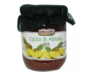 Geleia de Abacaxi Reserva de Minas 240g