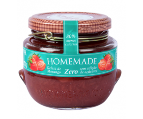 Geleia Premium Morango Zero Homemade 250g