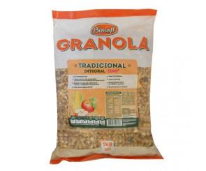 Granola Integral Tradicional Zero Biosoft 1kg