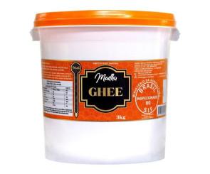 Manteiga Ghee Madhu Bakery Balde 3kg