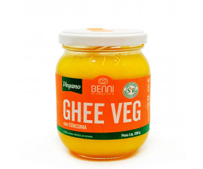 Manteiga Ghee com Cúrcuma Vegana 200g Benni