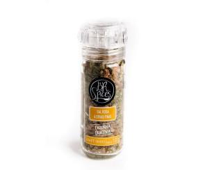 Moedor de Sal Rosa e Ervas Finas BR Spices 100g