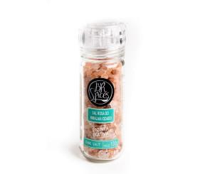 Moedor de Sal Rosa Himalaia BR Spices 100g