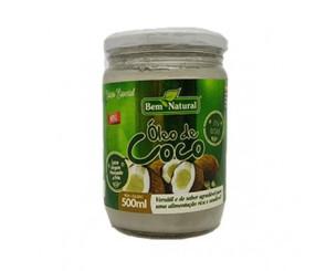 Óleo de Coco Bem Natural 500ml