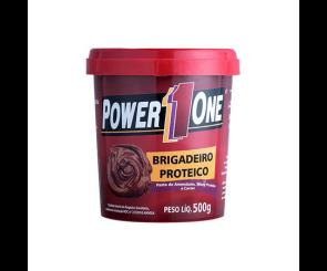 Pasta de Amendoim Brigadeiro Proteico Power One 500g
