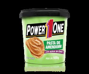 Pasta de Amendoim c/ Açúcar de Coco Power One 500g