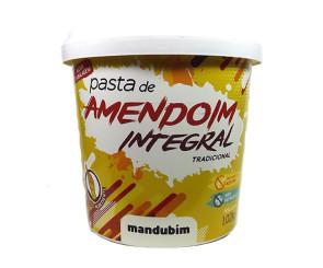 Pasta de Amendoim Integral Mandubim 1,020kg
