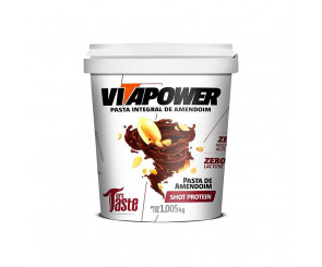 Pasta de Amendoim Shot Protein Vitapower Mrs Taste 1,005kg