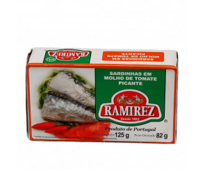 Sardinha em Molho de Tomate Picante Ramirez 125g
