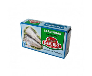 Sardinhas Ao Natural Ramirez 125g