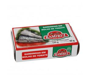 Sardinhas em Molho de Tomate Ramirez 125g