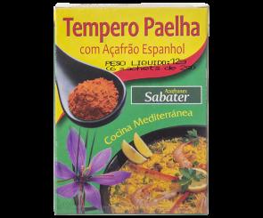 Tempero para Paella com Açafrão Azafranes Sabater 12g