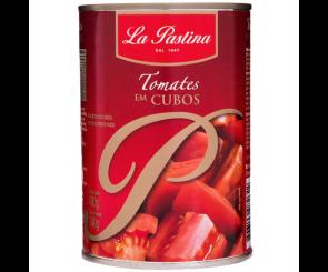 Tomate Pelado em Cubos La Pastina 400g